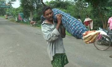 Odisha: Tribal man carries wife's body for 10 km after he failed to get a vehicle