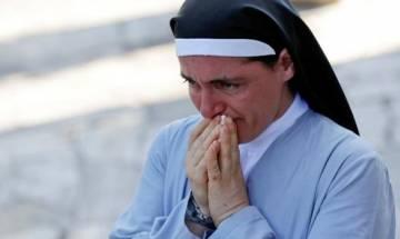 Italy earthquake: Nun photo-texts friends 'adieu', survives