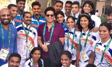 Sachin Tendulkar praises Rio winners, hopes journey doesn't stop here