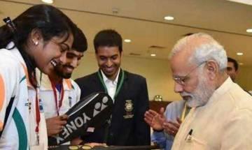 PM Modi praises Olympic medallists PV Sindhu and Sakshi malik