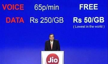 Reliance Jio 4G launch: 'Data-giri' to change India from September 5, says Mukesh Ambani