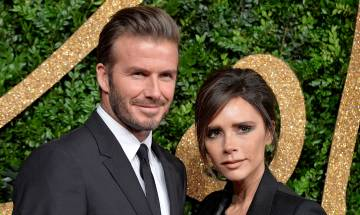 Victoria Beckham fell in love at first sight for David Beckham