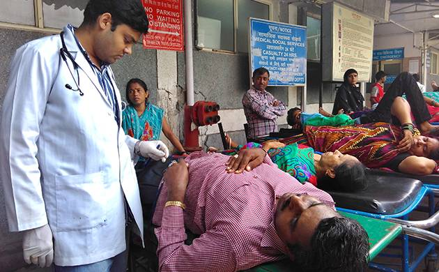 India is short of nearly 500,000 doctors (Image source: Getty Images)