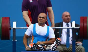 Indian powerlifter Farman Basha misses bronze after finishing fourth at Rio Paralympics