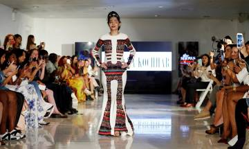 'Beauty is not skin deep', says acid attack survivor Reshma Qureshi as she walks at New York Fashion Week