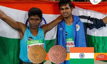 Rio Paralympics 2016: Mariyappan Thangavelu wins gold, Varun Bhati bronze in in Men's high jump