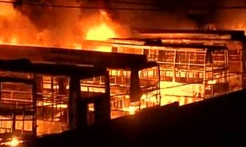 Public transport bears the brunt as Cauvery water war between Tamil Nadu and Karnataka rages