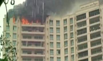 Watch Video: Fire breaks out at Hiranandani Tower in Mumbai
