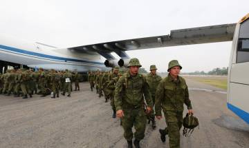 Russia denies any military exercise with Pakistan in Occupied-Kashmir