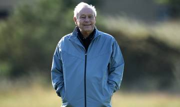 People's favourite Golfer Arnold Palmer dies at 87