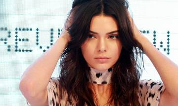 TV star Kendall Jenner gets tatto on her lip