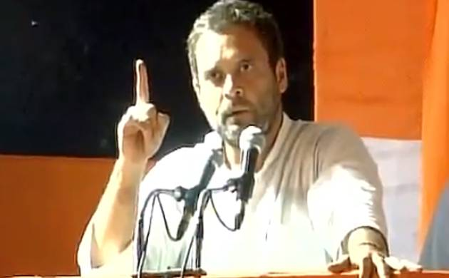 Congress vice president Rahul Gandhi accuses PM Modi of doing politics on sacrifices of soldiers (Pic: ANI)