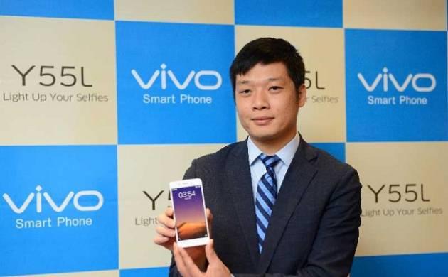 Vivo India CEO Kent Chung launching Vivo Y55L - File Photo