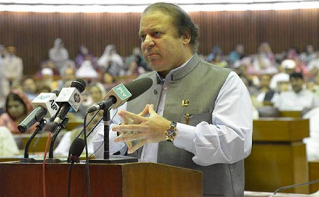 Pakistan Prime Minister Nawaz Sharif (File photo)