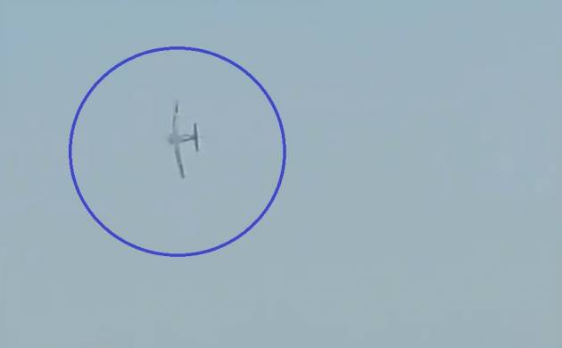 Indian Air Force Day: PC-7 Aircraft shows its prowess at Hindon Air Base (Image: Twitter/ANI)