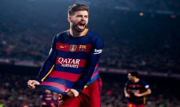 Spanish defender Gerard Pique will bid adieu to international soccer after the 2018 World Cup