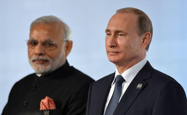 Prime Minister Narendra Modi and Russian President Vladimir Putin (Pic: Getty)