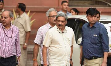 Parrikar-Opposition slugfest escalates further over surgical strikes after Congress accuses him of 'blatant politicisation'