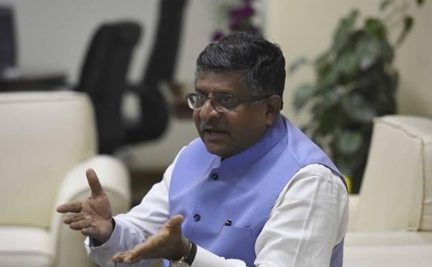Law Minister Ravi Shankar Prasad (Getty Images)