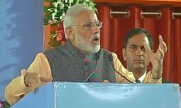 Watch video: Army doesn't speak, it acts, says PM Narendra Modi in Bhopal