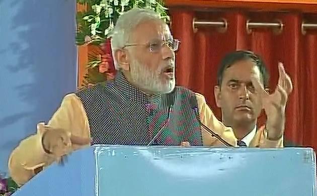 Prime Minister Narendra Modi addresses ex-servicemen in Bhopal