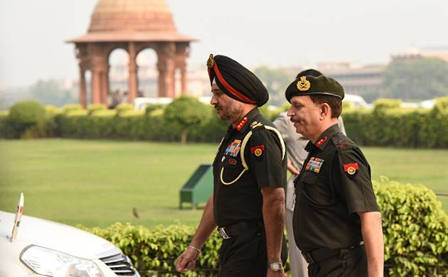 Director General Military Operations (DGMO) Ranbir Singh file photo (Source Getty Images)
