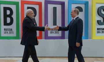 Top 5 news at 1pm on Oct 14: PM Modi welcomes Putin; 14 dead as bus falls in gorge in MP and more