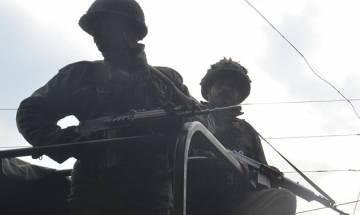 Terrorists attack police convoy in Jammu and Kashmir's Handwara