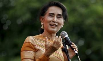 We look up to India in our search for peace, stability and enduring federalism says Suu Kyi