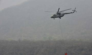 Watch: Army's Mi 17 helicopter crash-lands during routine drill exercise near Chamoli