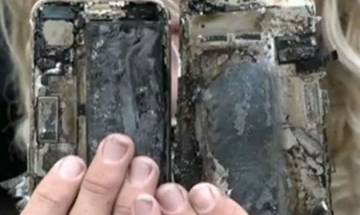 Watch video: Apple iPhone 7 bursts into flames inside a car, says report