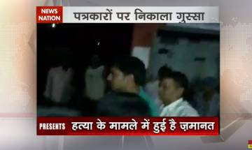 Watch: Rocky Yadav accused in 'Bihar road rage' manhandles journalists soon after coming out of jail