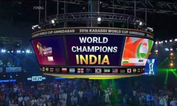 2016 Kabbadi World Cup: Proud nation congratulates Team India for win, PM leads accolades