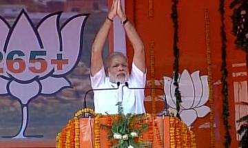 Watch: A Hindu will be jailed for female foeticide and Muslim women will be protected against Triple Talaq, says PM Modi at Mahoba rally
