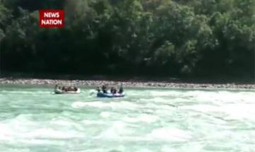 Watch: ITBP rafters brave strong Ganga currents, rescue 3 stranded tourists