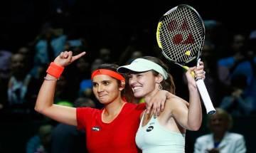 Sania Mirza and doubles partner Martina Hingis seal semifinal spot at WTA Finals