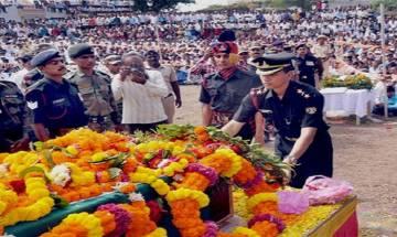 Army pays rich tributes to jawan Rifleman Sandeep Singh Rawat killed during anti-infiltration
