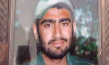 Mortal remains of brave martyr Mandeep Singh brought to his hometown in Kurukshetra, Haryana