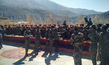 PM Modi celebrates Diwali with ITBP, Indian Army and Dogra Scouts in Sumdo, Kinnaur district of Himachal Pradesh