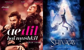 ADHM-Shivaay at box office: ADHM inching towards 100 crore club; Shivaay strong at small screens