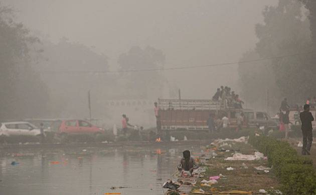 Alarming levels of pollution in National Capital Region (NCR) (Image Source:Getty)