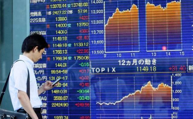 Asia stock market file photo
