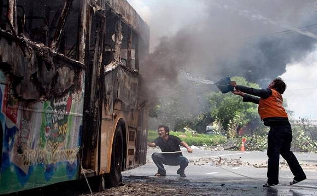 Five buses gutted in fire in Jammu reported(Representative Image)