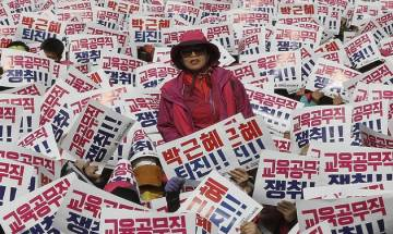 Mass rally in Seoul for Park's ouster; one of the biggest protests after democratisation of country