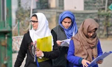 J-K: Students dare separatists' diktats; 95 per cent turn out for class XII exams