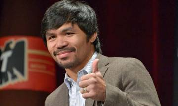 Manny Pacquiao fuels talk of  rematch with Floyd Mayweather