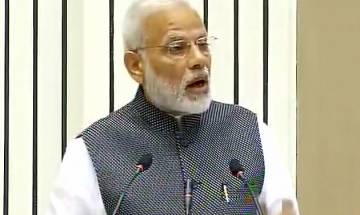 Watch: PM Narendra Modi hails press freedom, says external control on media not good for society