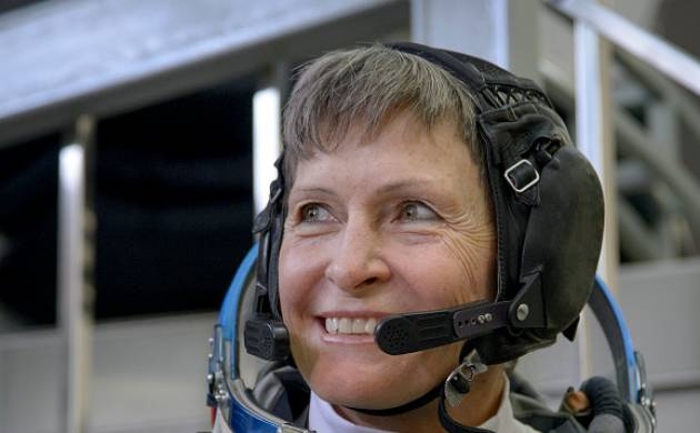 NASA astronaut Peggy Whitson (source: Getty)