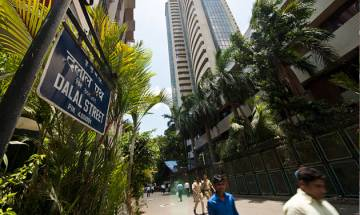 Sensex show downward trend, ends at six-month low of 26,105