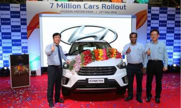 Hyundai Creta AT: The 7 millionth car to roll out of Hyundai India plant